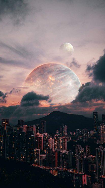 Alien Planet City