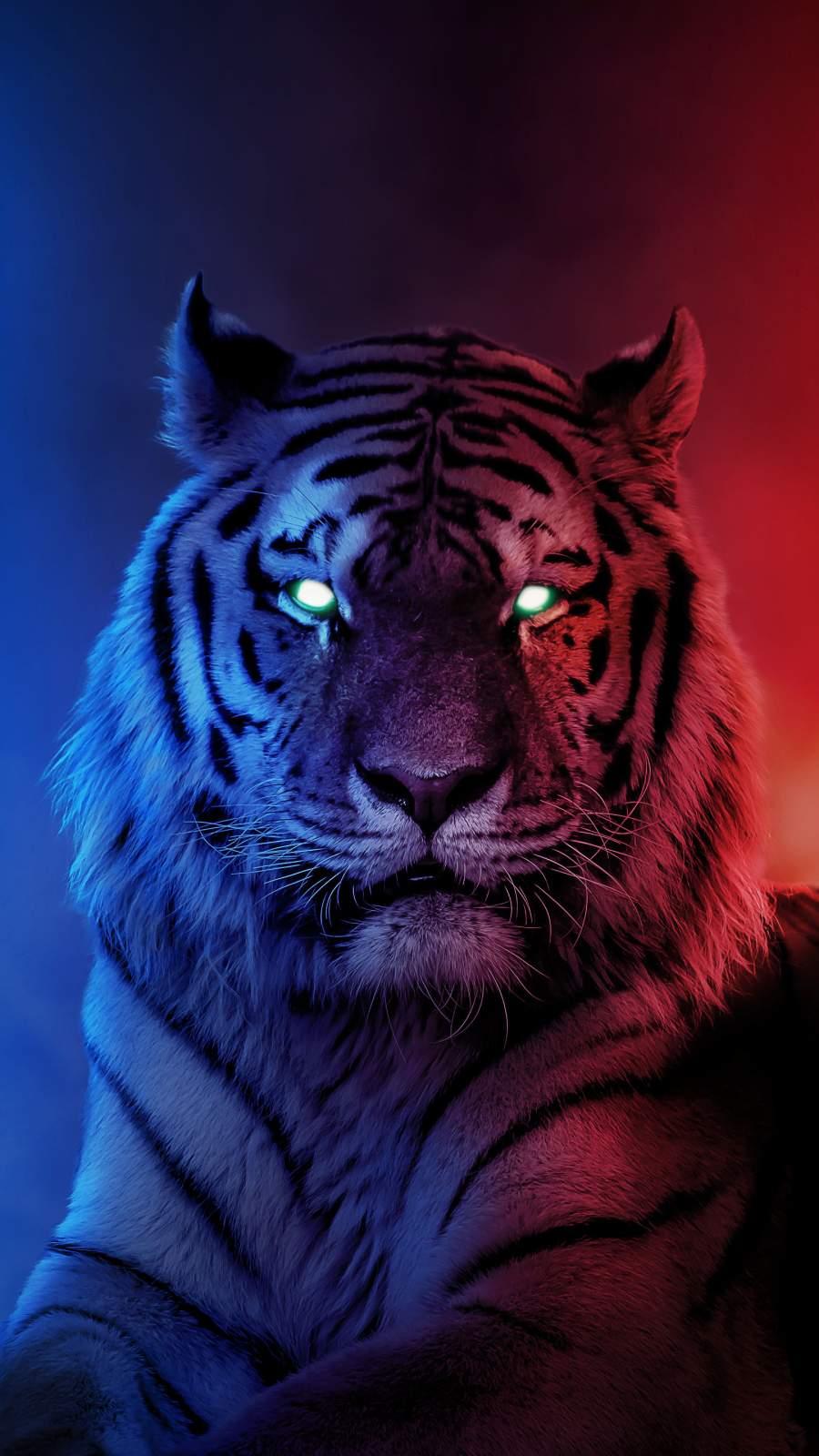 Alpha Tiger iPhone Wallpaper