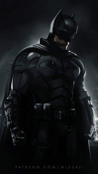 Batman Movie 2021 iPhone Wallpaper