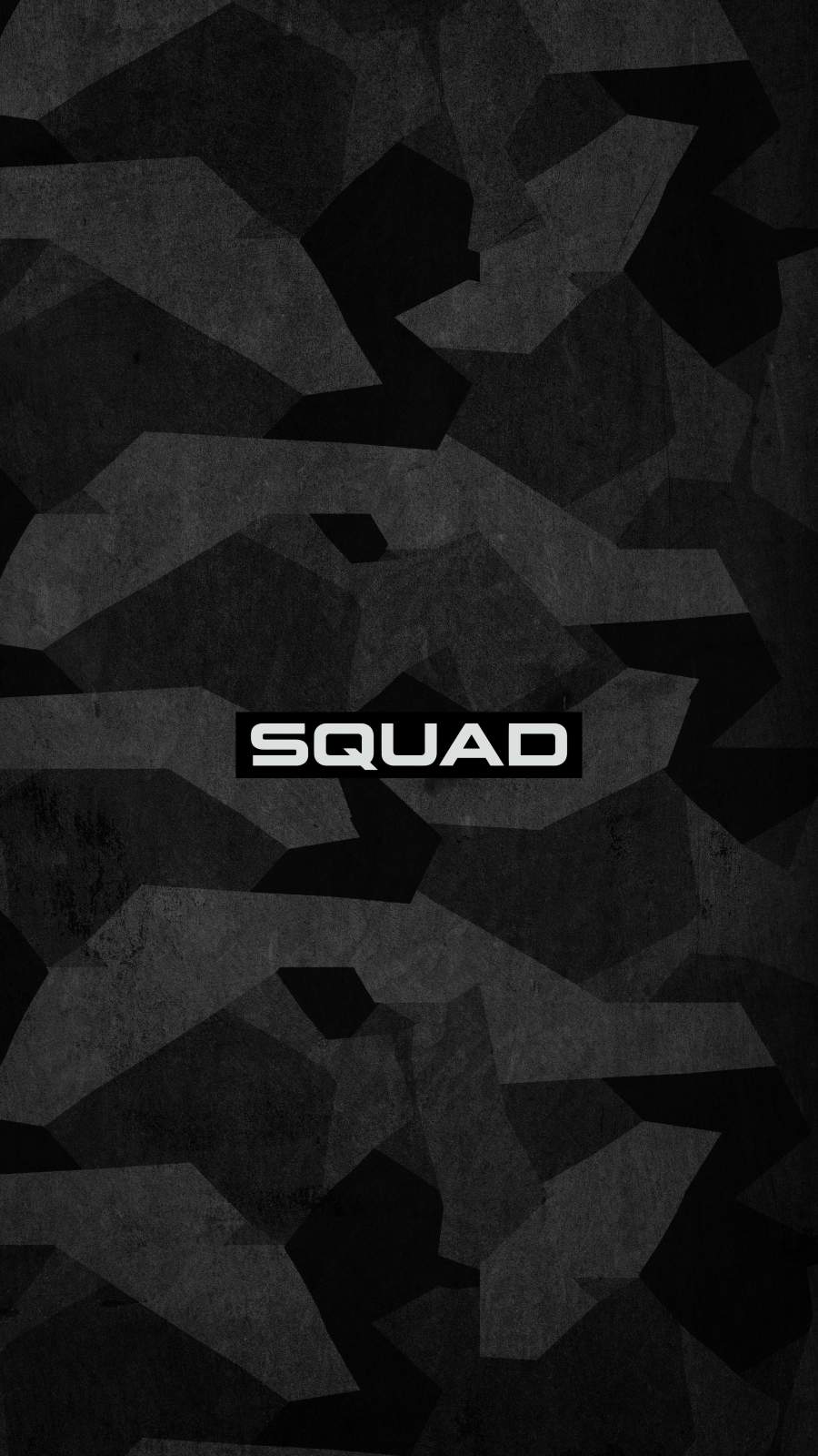 Black Camouflage Army Squad iPhone Wallpaper