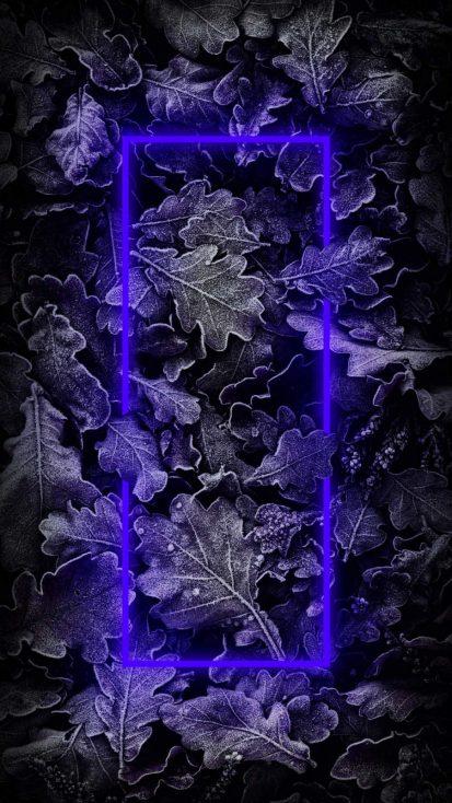 Blue Neon Nature