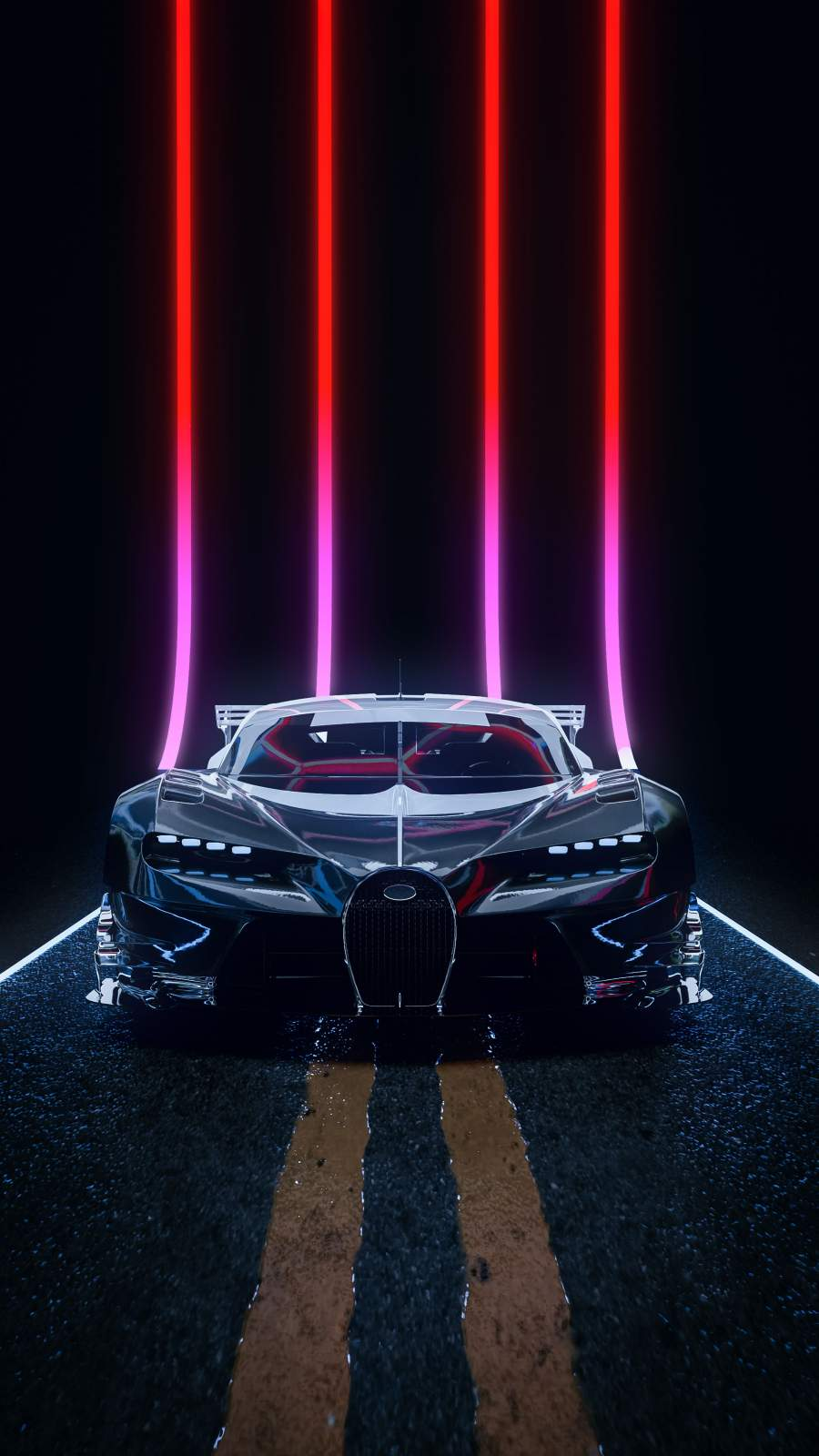 Bugatti Chiron Super Sport iPhone Wallpaper