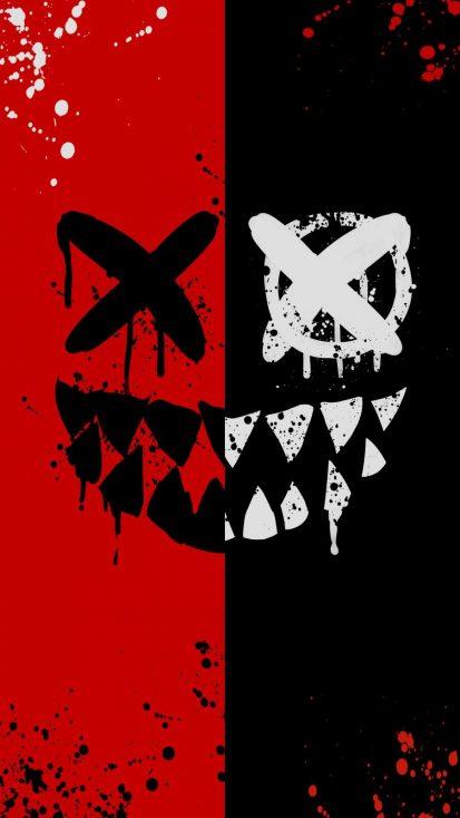 Dead Smile iPhone Wallpaper