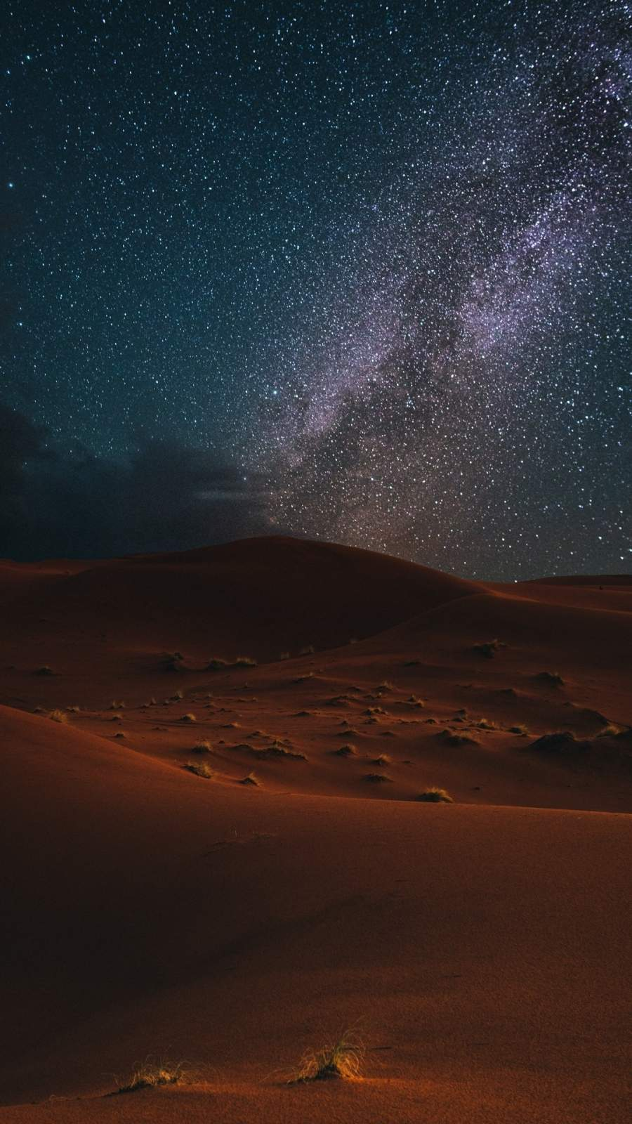 Desert Night Sky iPhone Wallpaper