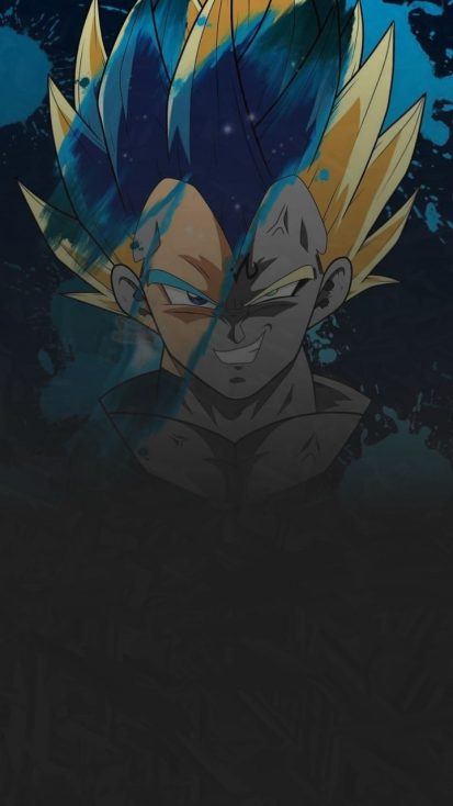 Dragon Ball Z Art iPhone Wallpaper