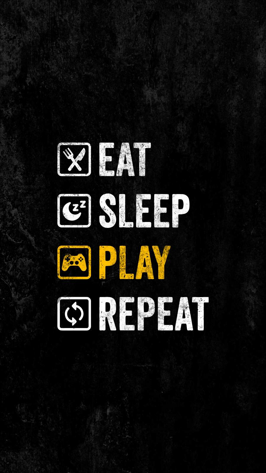 Gamer Life iPhone Wallpaper