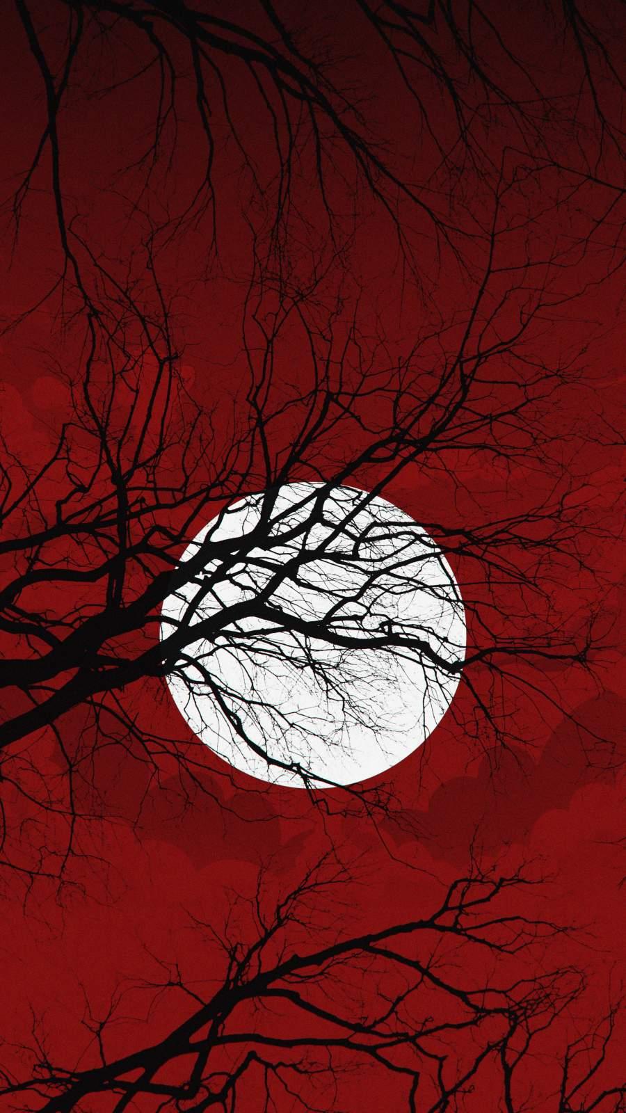 Halloween Night Moon
