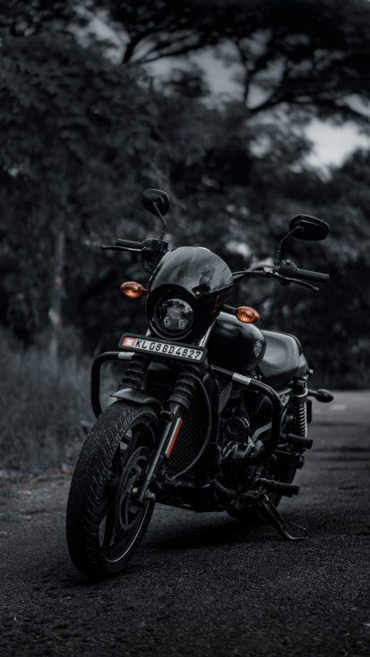 Harley Davidson Bike iPhone Wallpaper