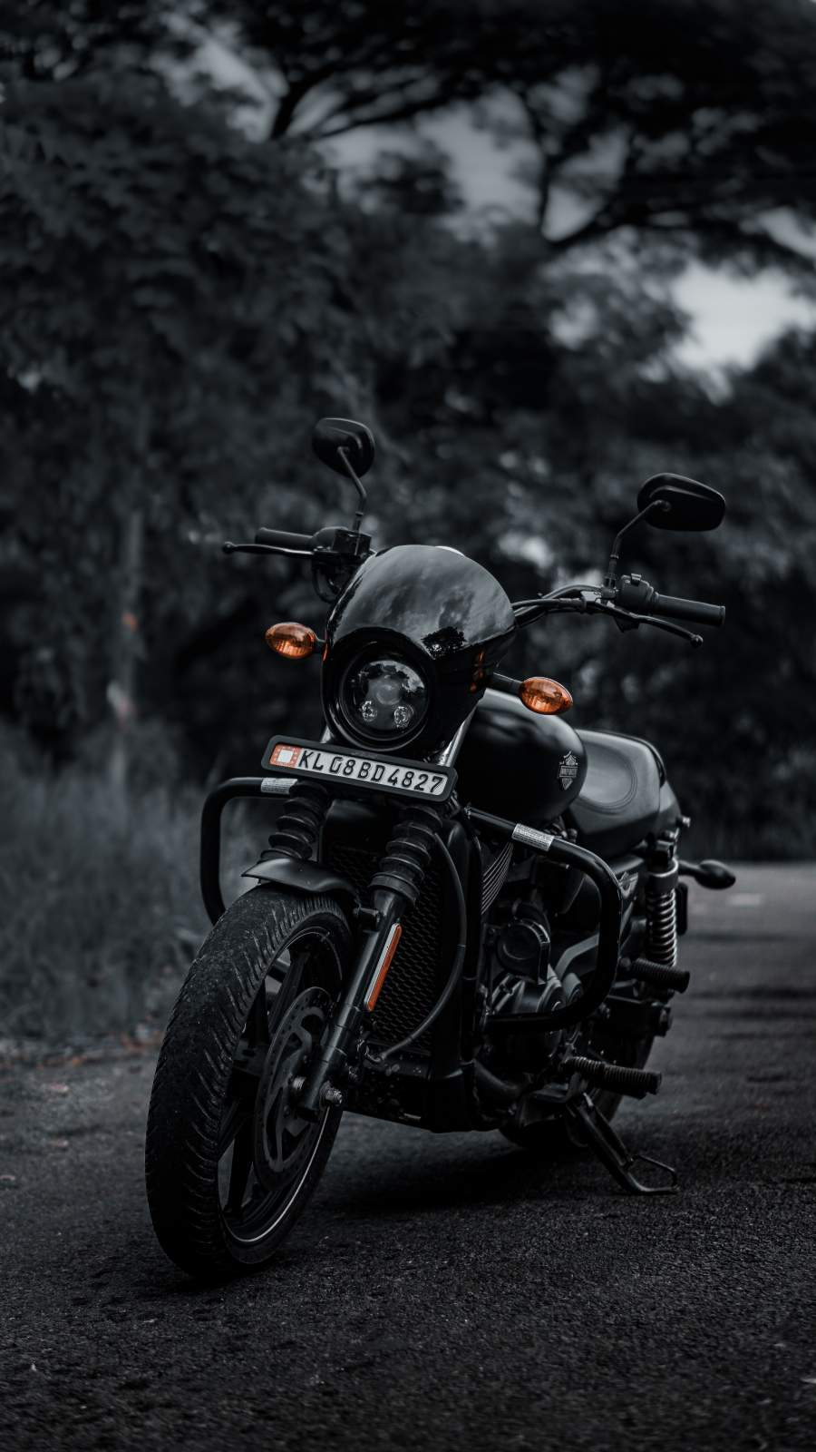 Harley Davidson Bike iPhone Wallpaper