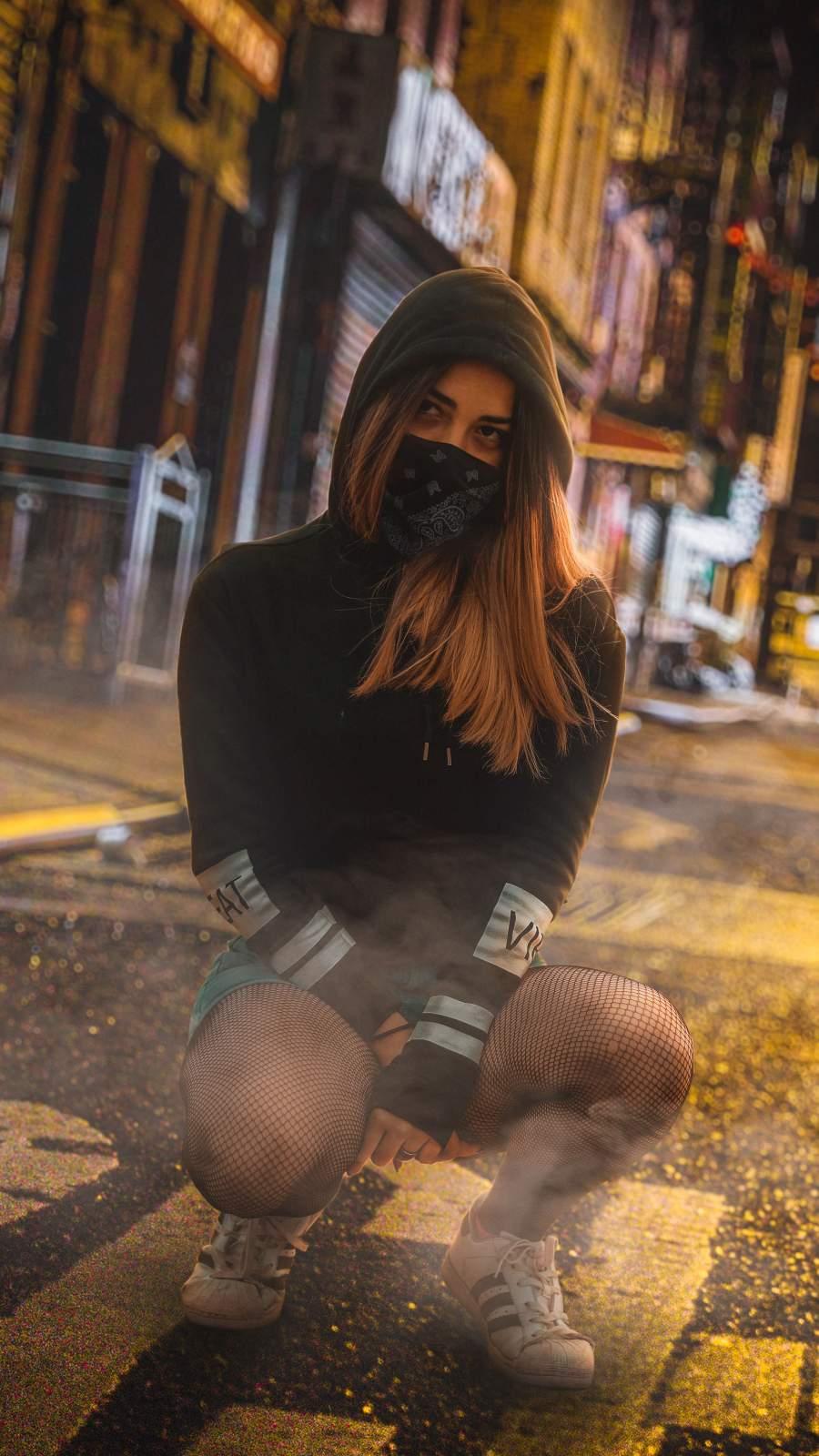 Hoodie Mask Girl
