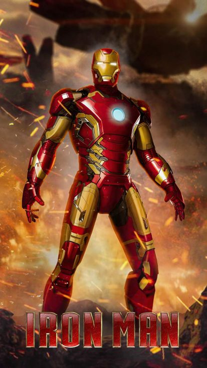 Iron Man Tony Stark 4K