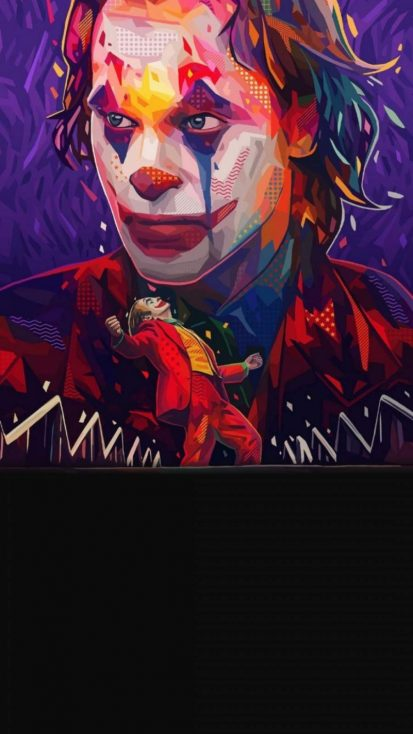 Joker Art iPhone Wallpaper