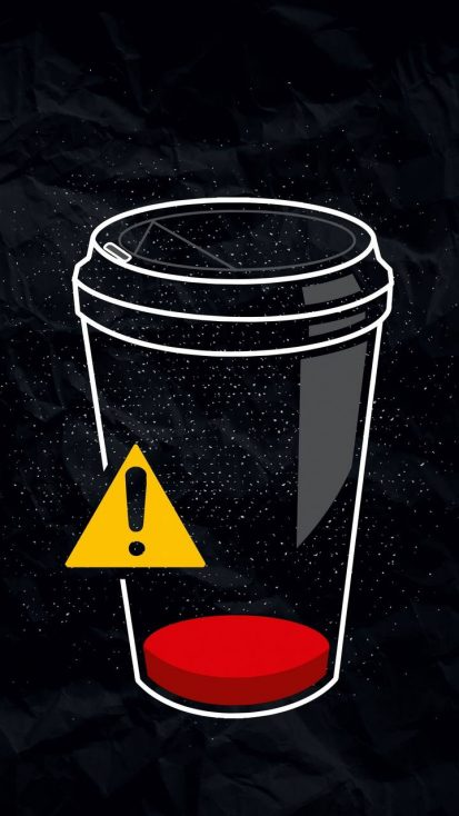 Low Coffee Warning