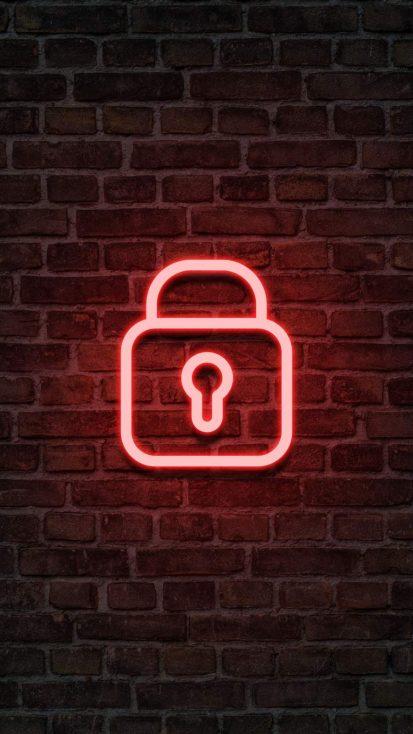 Neon Lock Screen