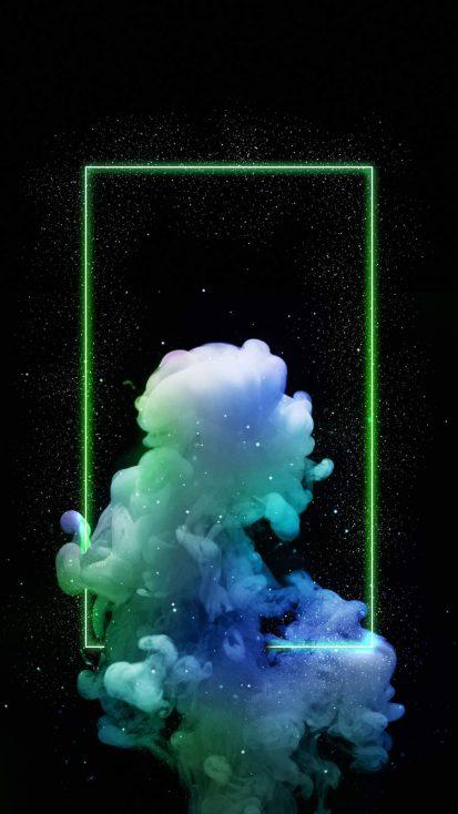 Neon Smoke Cloud