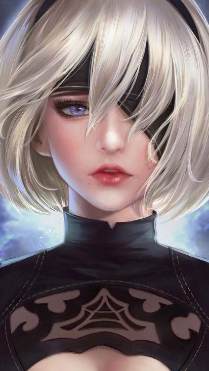 Nier Automata Anime Girl