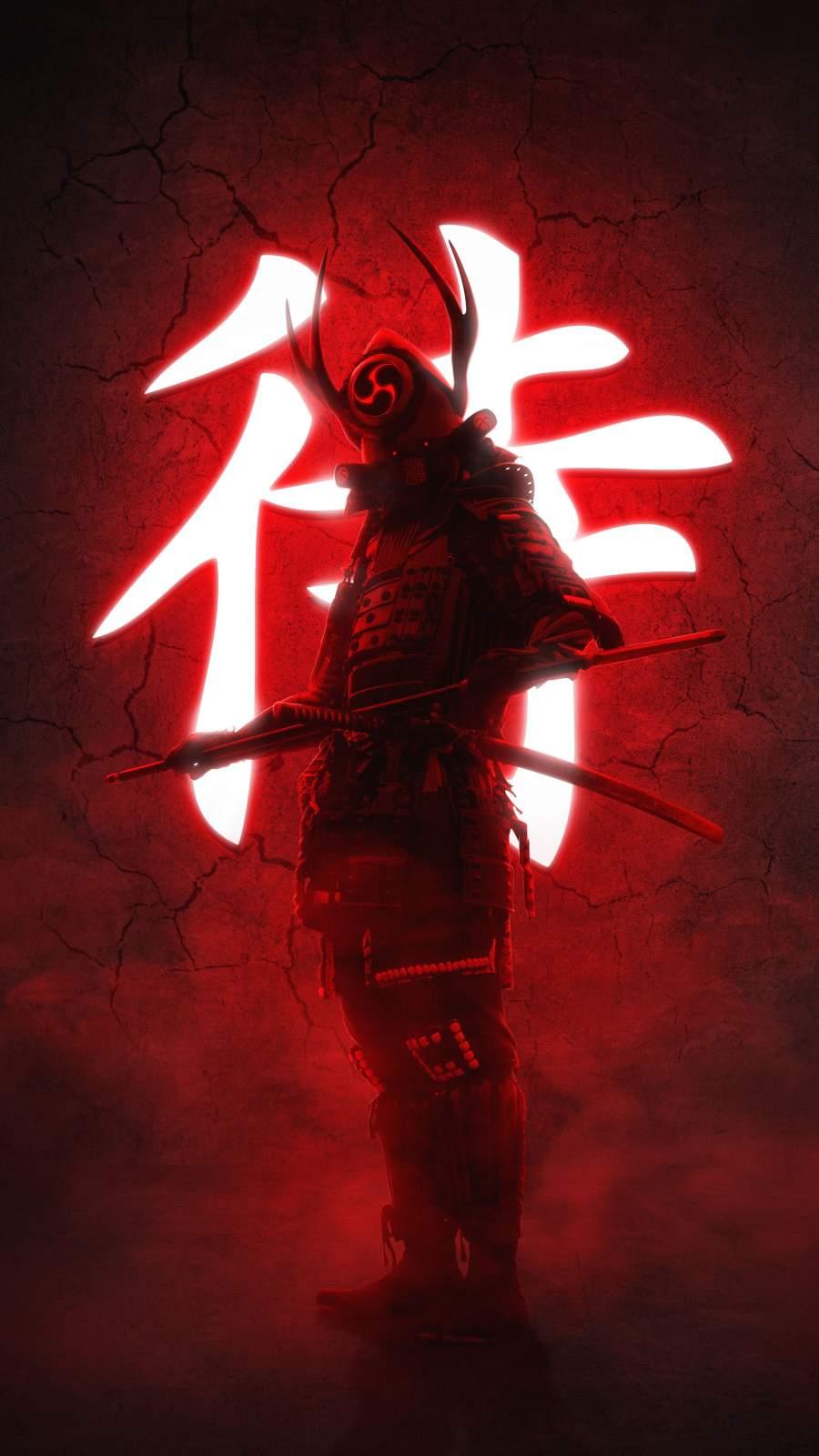 Ninja Warrior iPhone Wallpaper