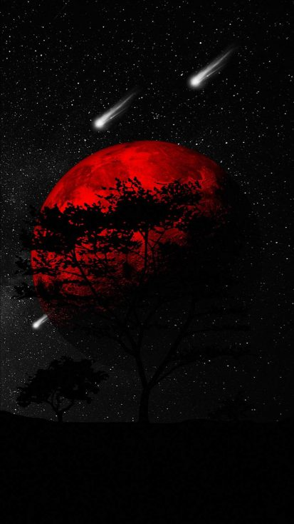 Red Planet Dark Tree