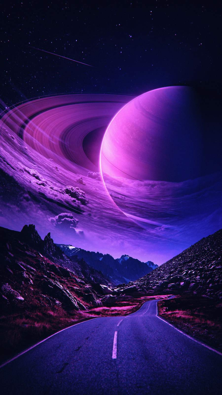 Road to Planet Saturn