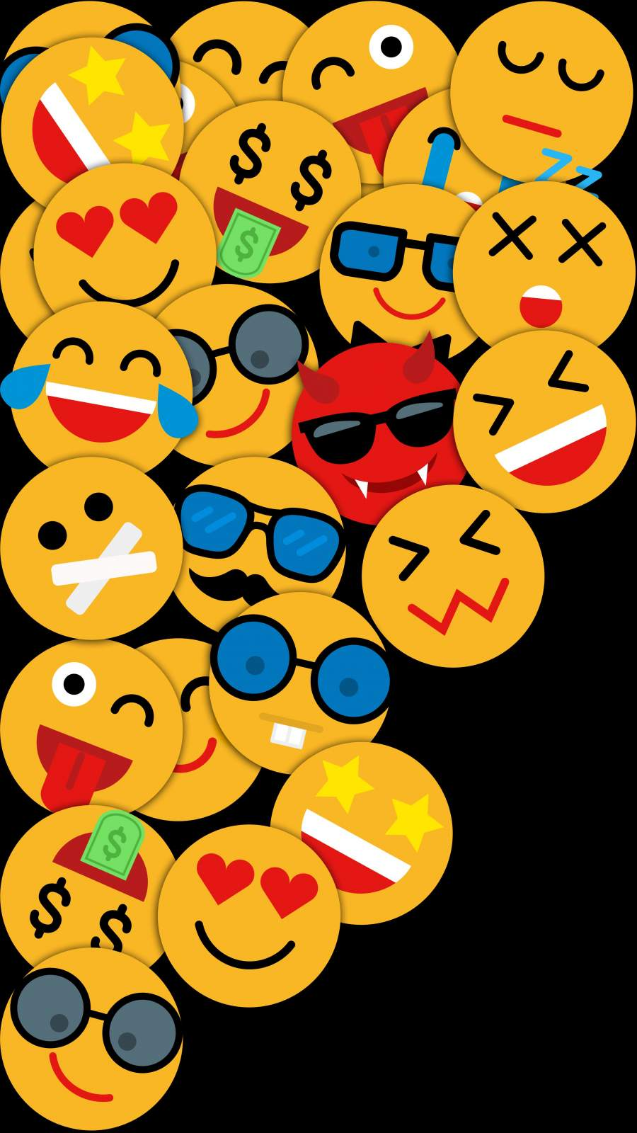 Smiley iPhone Wallpaper 1