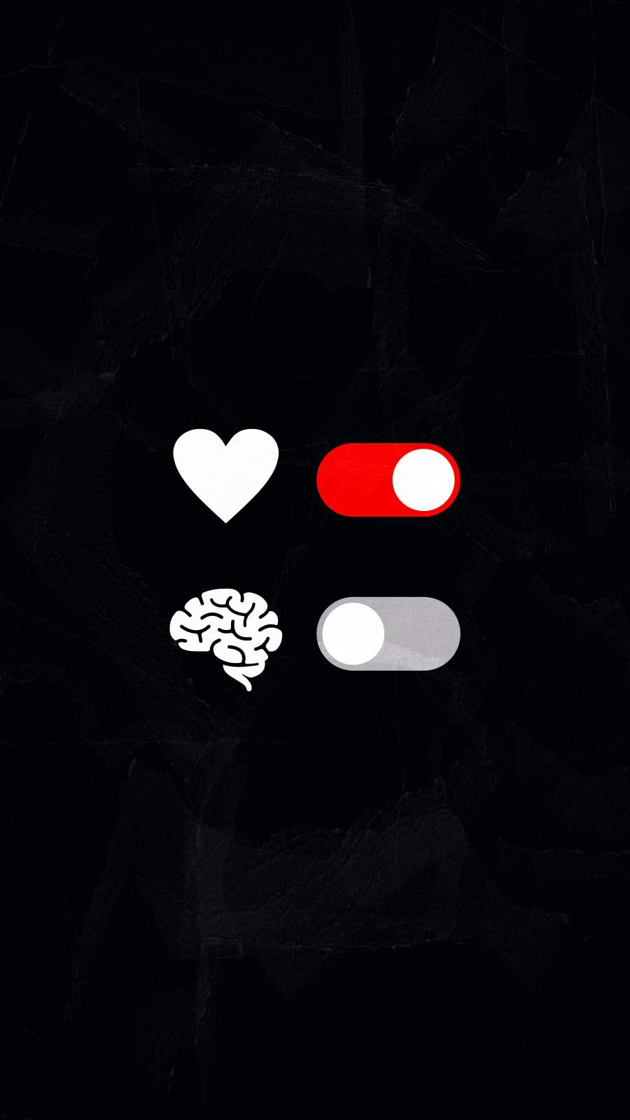 Think from Heart iPhone Wallpaper