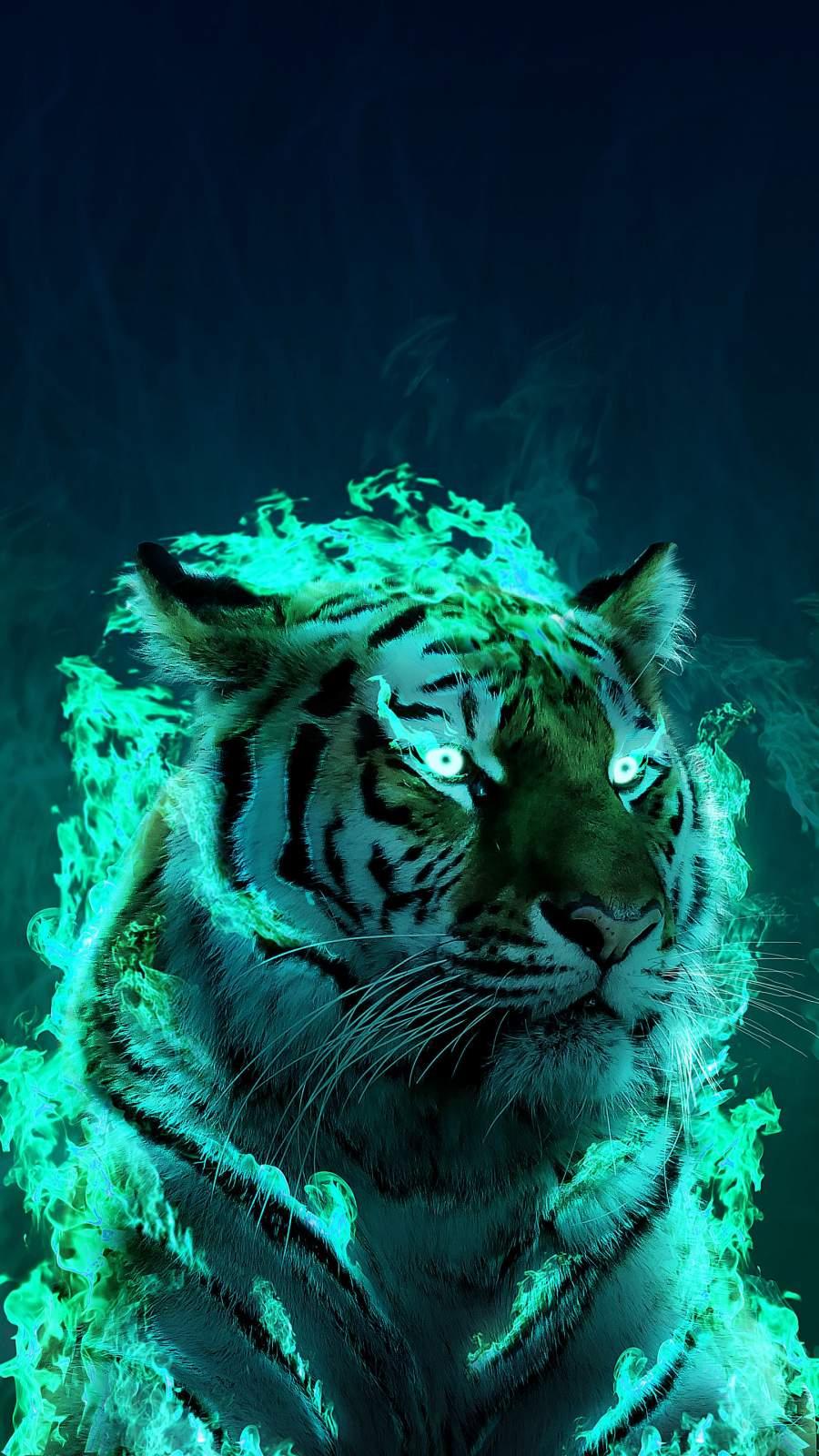 Tiger King iPhone Wallpaper