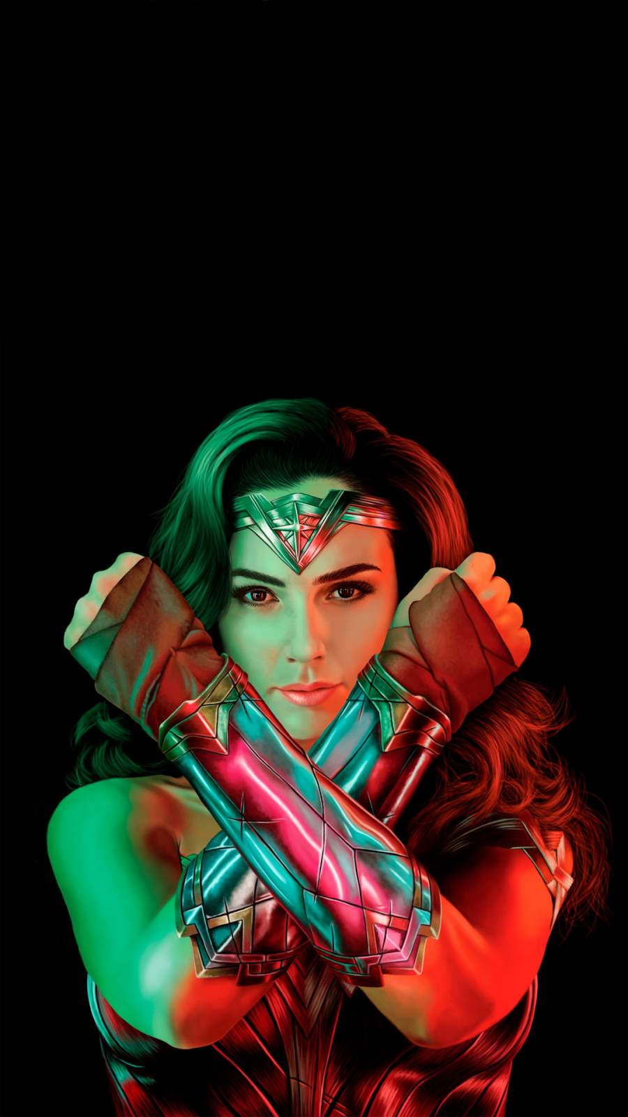 Wonder Woman Gal Gadot iPhone Wallpaper