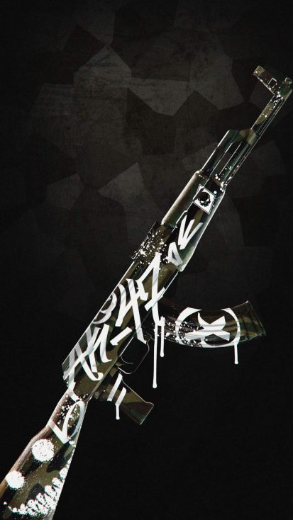 AK 47 Skin iPhone Wallpaper