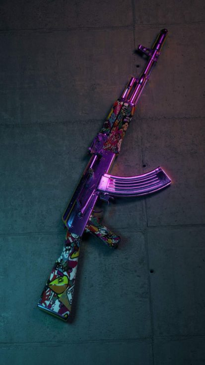 AK Gun with Skin