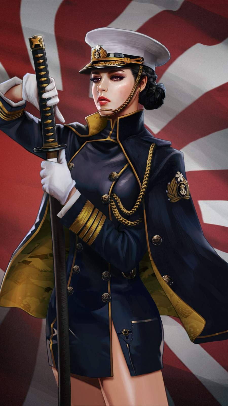 Anime Girl iPhone Wallpaper