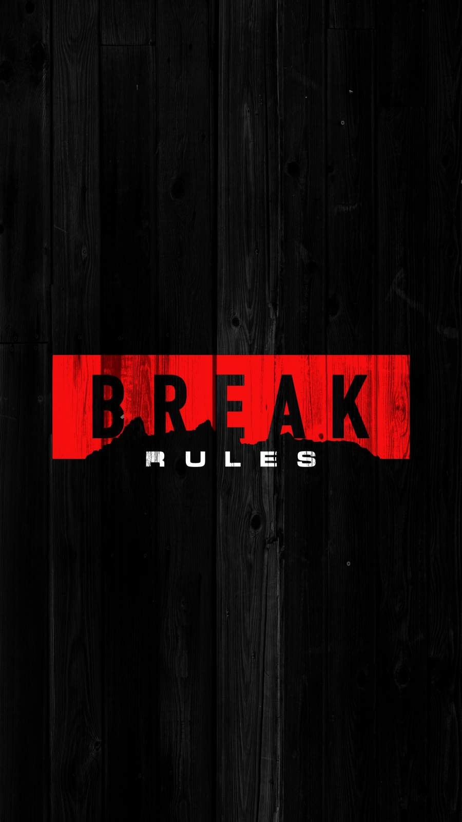 Break Rules iPhone Wallpaper