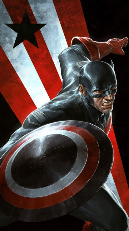 Captain America Dark Shield