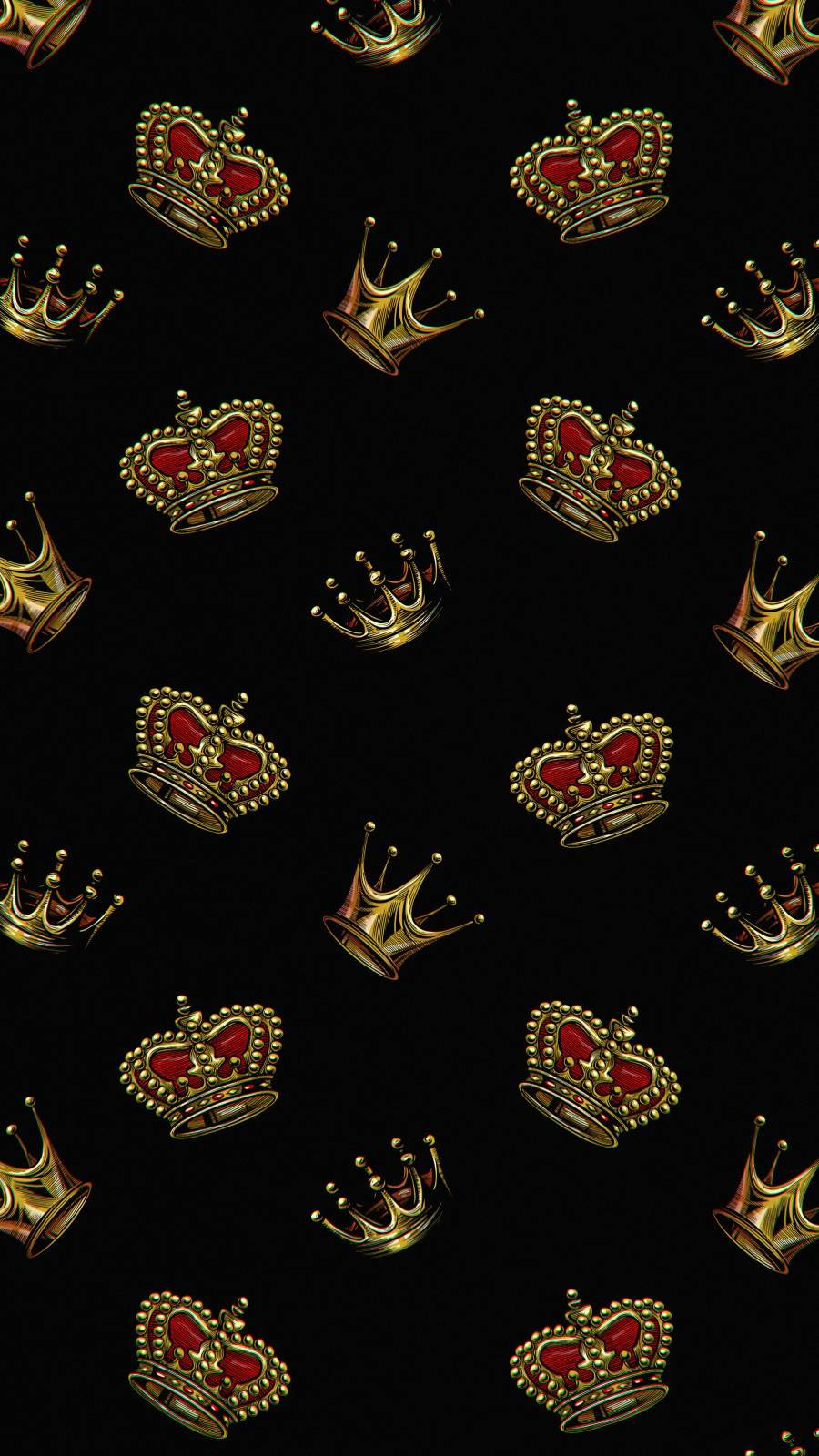 Crown King iPhone Wallpaper