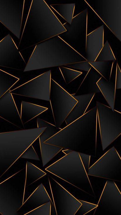 Dark 3D iPhone Wallpaper