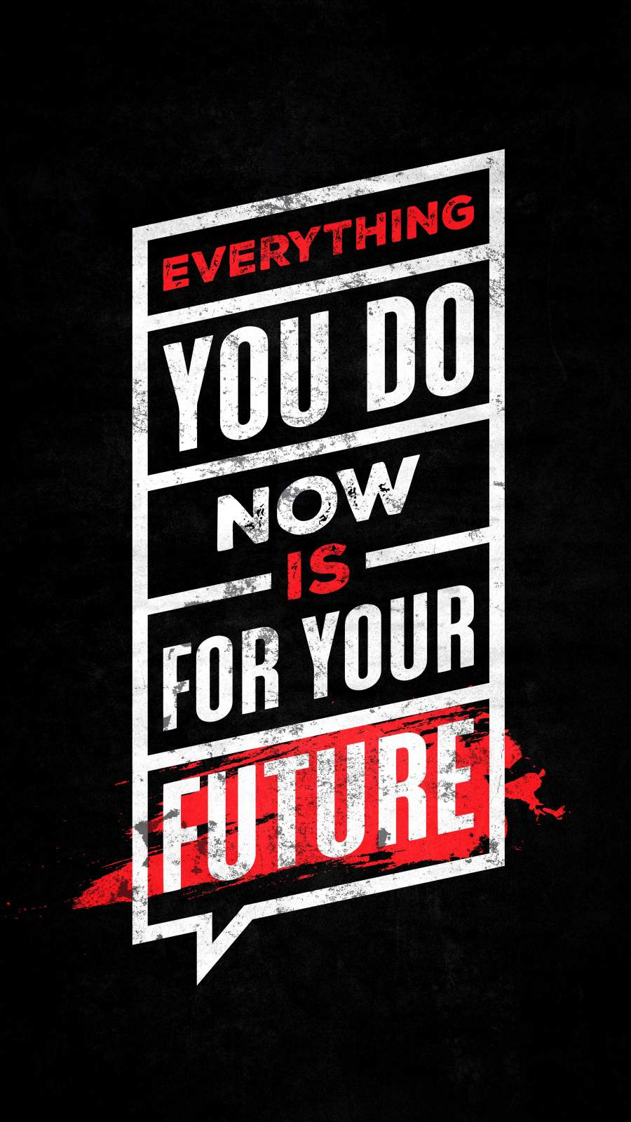 Everything you do Now isYour Future