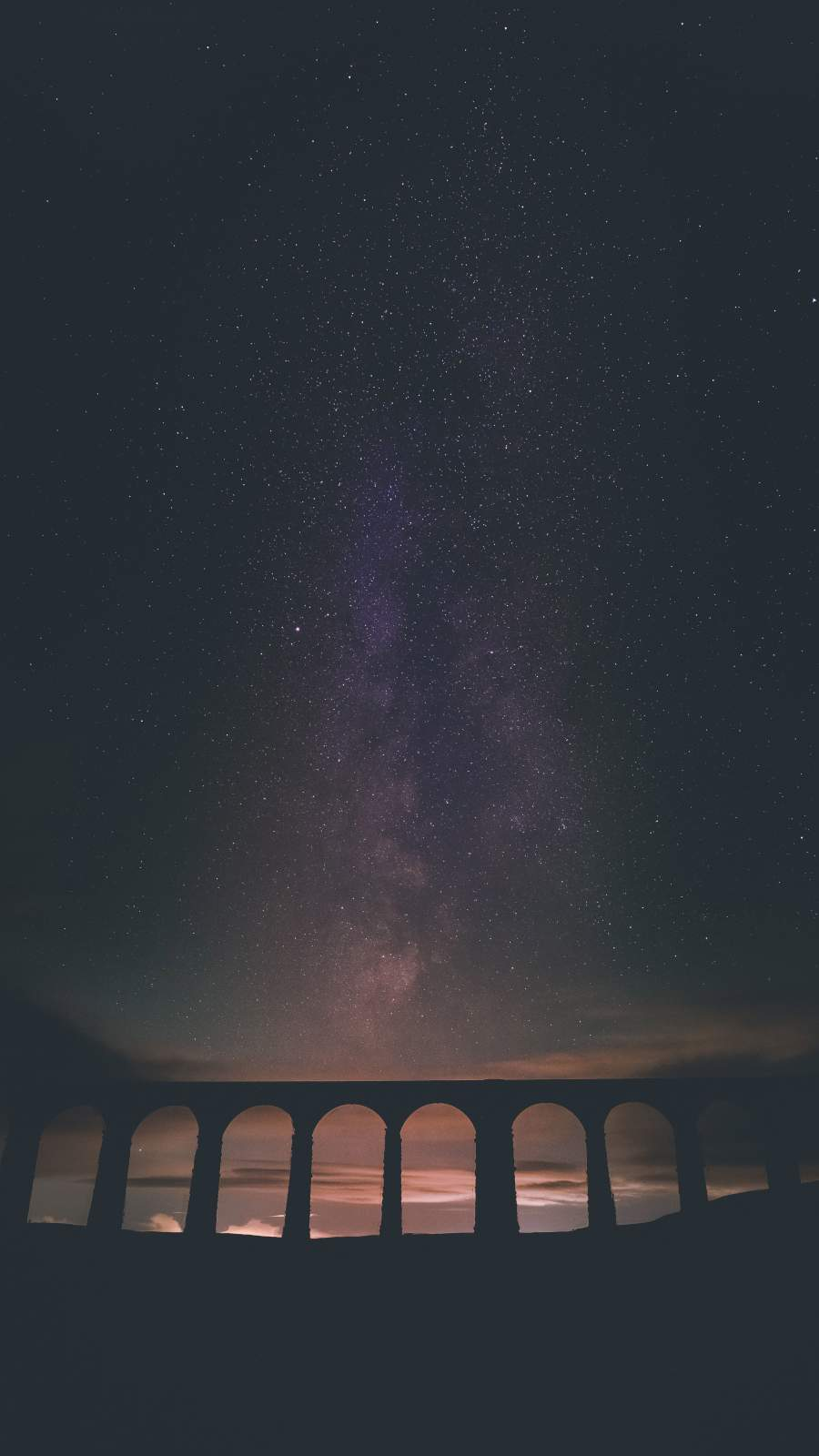 Galaxy View in Night