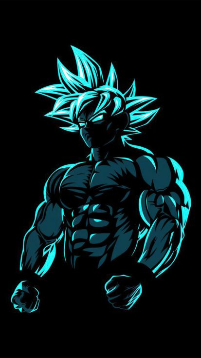 Goku Beast iPhone Wallpaper