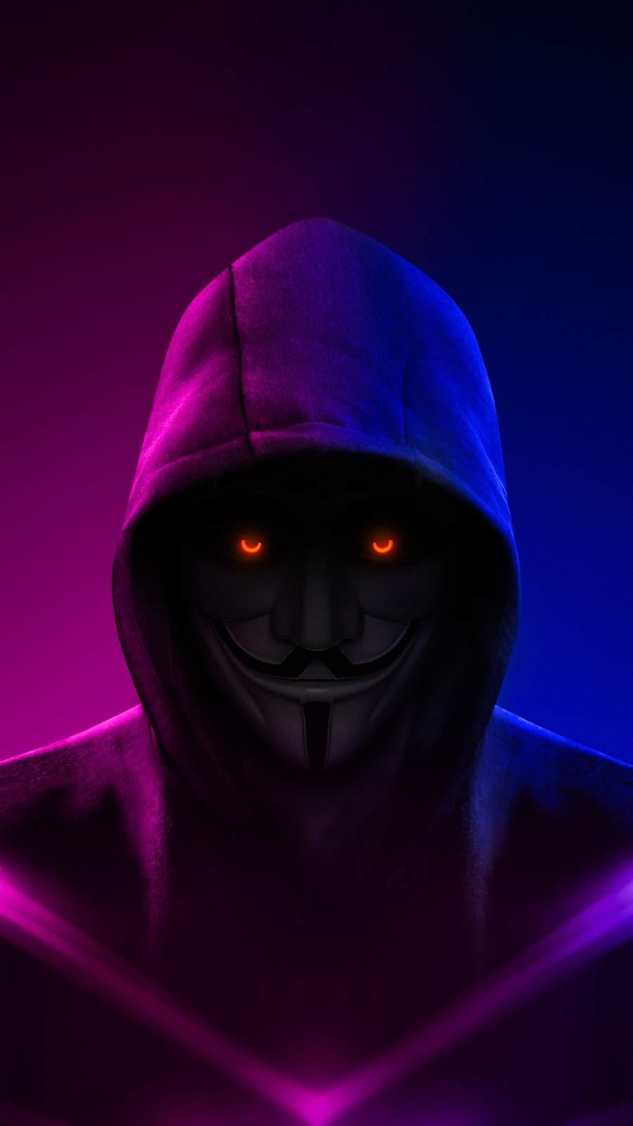 Hoodie Anonymous iPhone Wallpaper