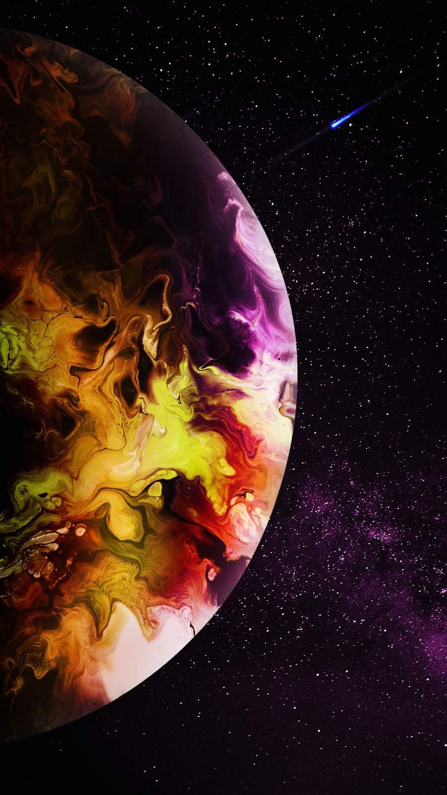 Interstellar Planet iPhone Wallpaper