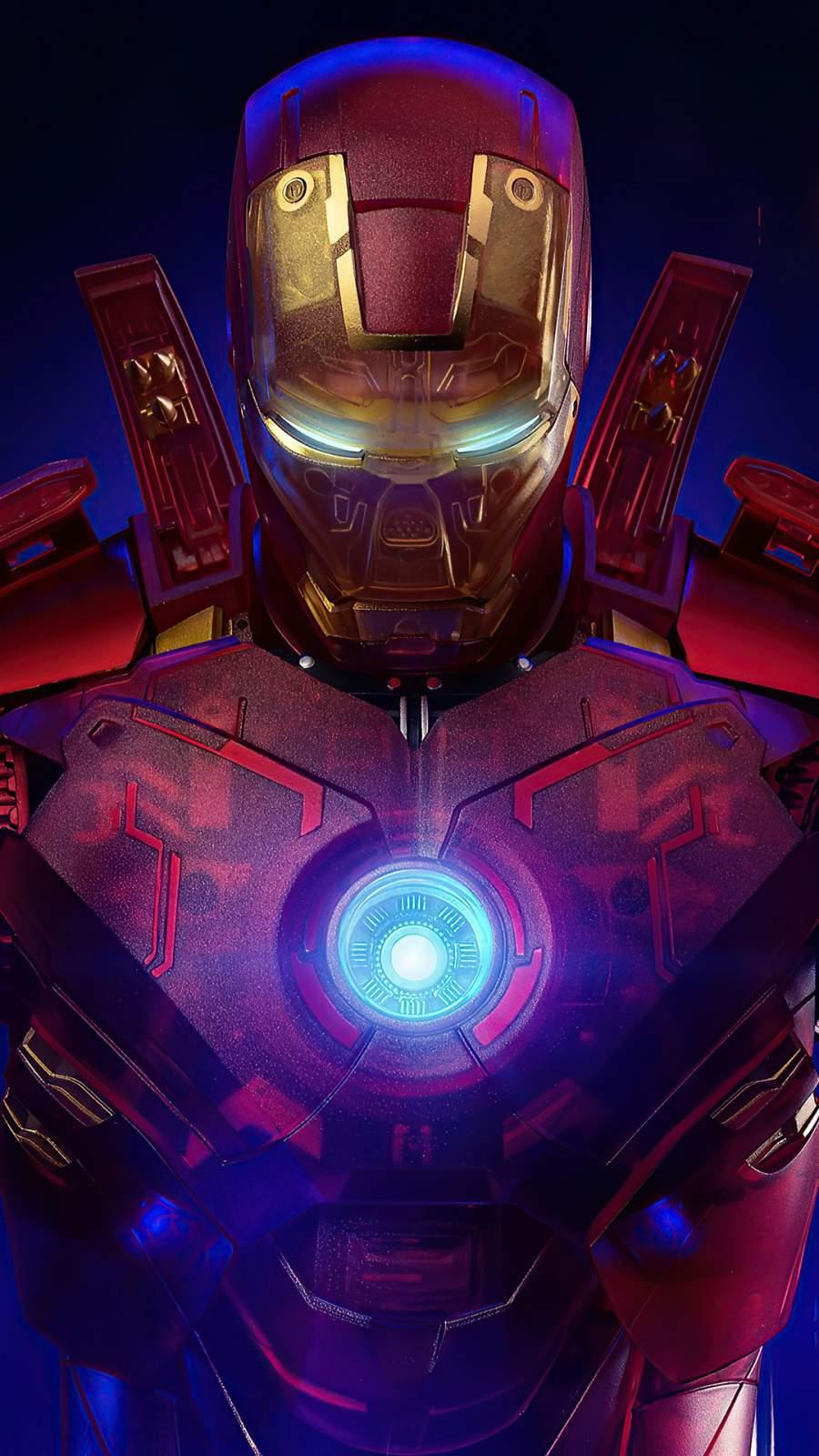 Iron Man Transparent Armor