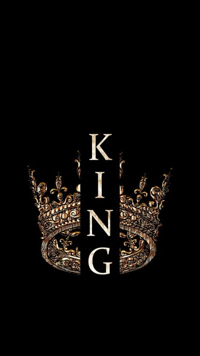 KING Crown iPhone Wallpaper
