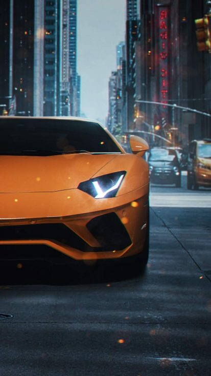 Lambo Super Car iPhone Wallpaper