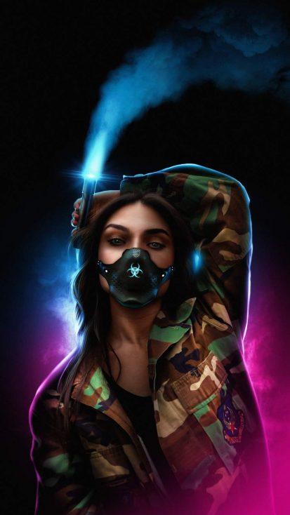 Mask Girl Urban