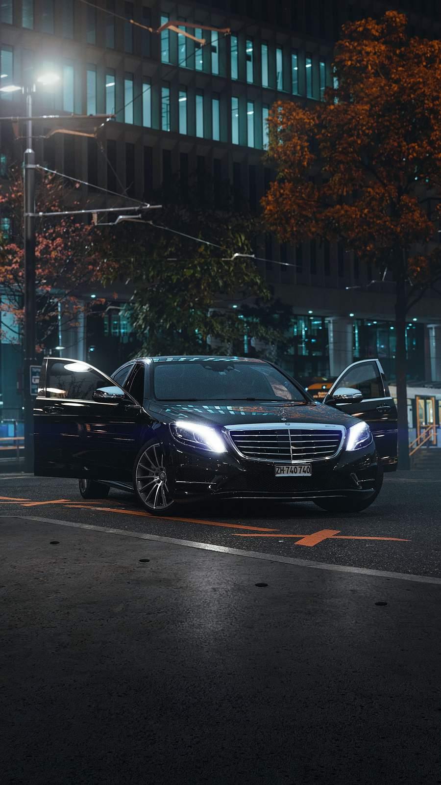 Mercedes Benz Luxury iPhone Wallpaper
