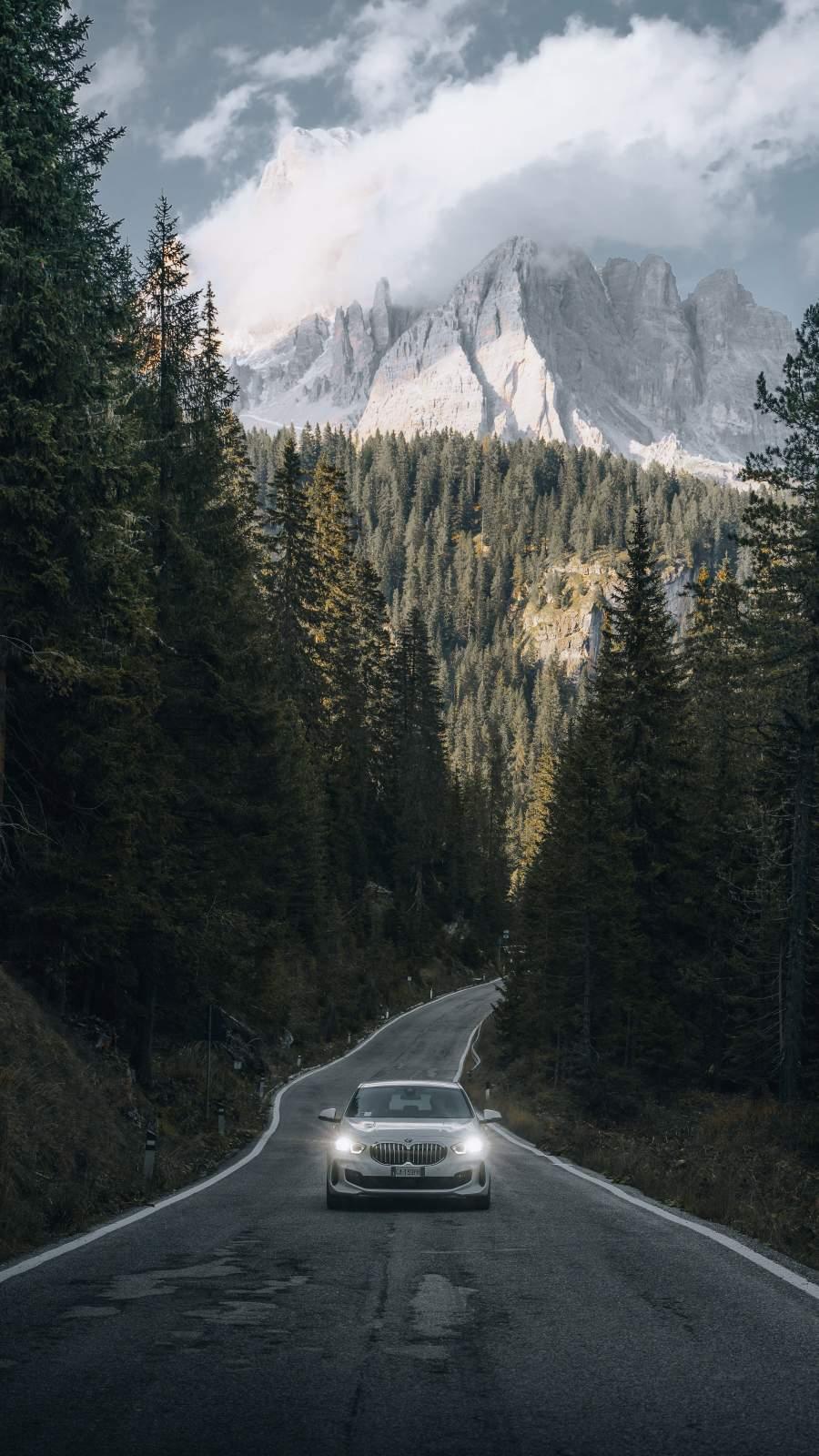 Mountain Roads BMW