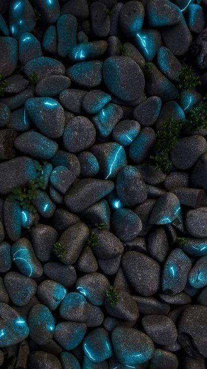 Neon Stone Pebbles