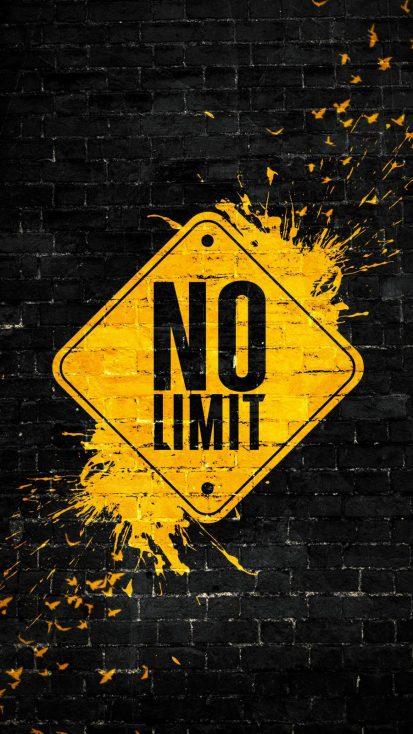 No Limit iPhone Wallpaper 1
