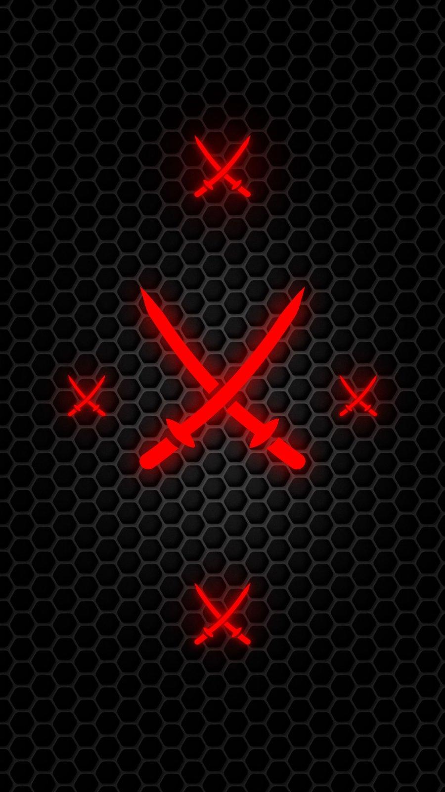 Sword Defense iPhone Wallpaper