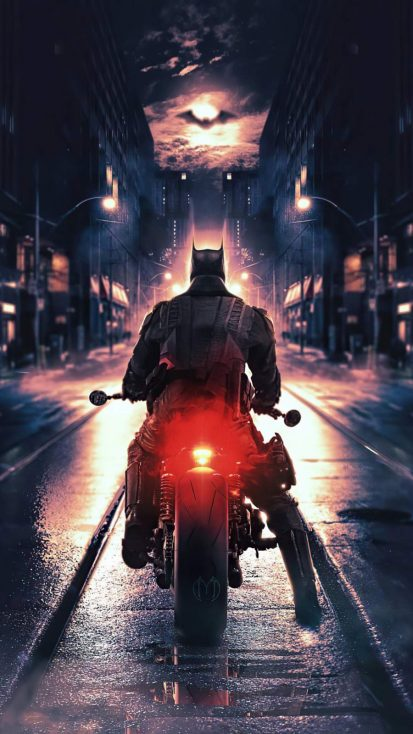 The BatBike iPhone Wallpaper