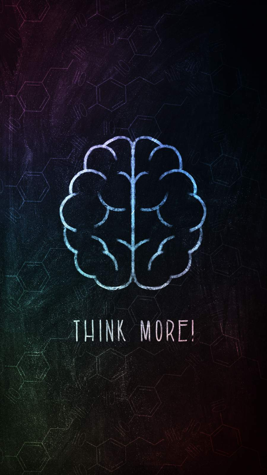 Think More iPhone Wallpaper